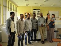 Participants of Molecular genetics course at Hawassa University, Wondo Genet College of Forestry and Natural Resources