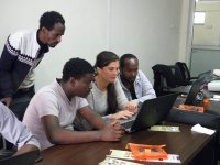 Practical part of the course focused on evaluation of molecular data.