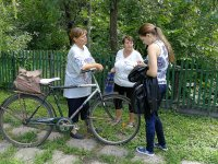 Student's field research during Sumer school 2018 in city Sumy