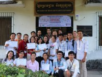 FTA organized student's scientific conference in Cambodia