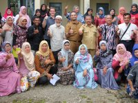 Final group photo after the workshop in Minang community